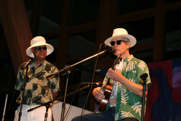 Al Young & Jim Houston at the Follies in 2007