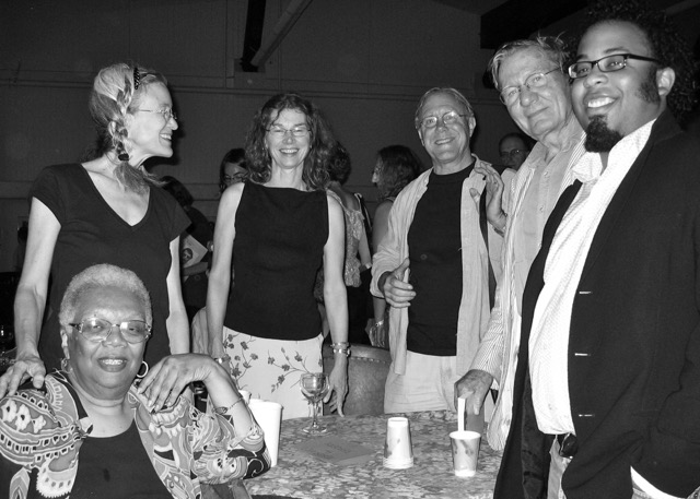 Hillman with 2005 Poetry Staff: Lucille Clifton, Sharon Olds, Robert Hass, Galway Kinnell and Kevin Young.