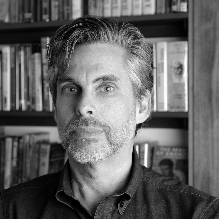 Portrait of Michael Chabon
