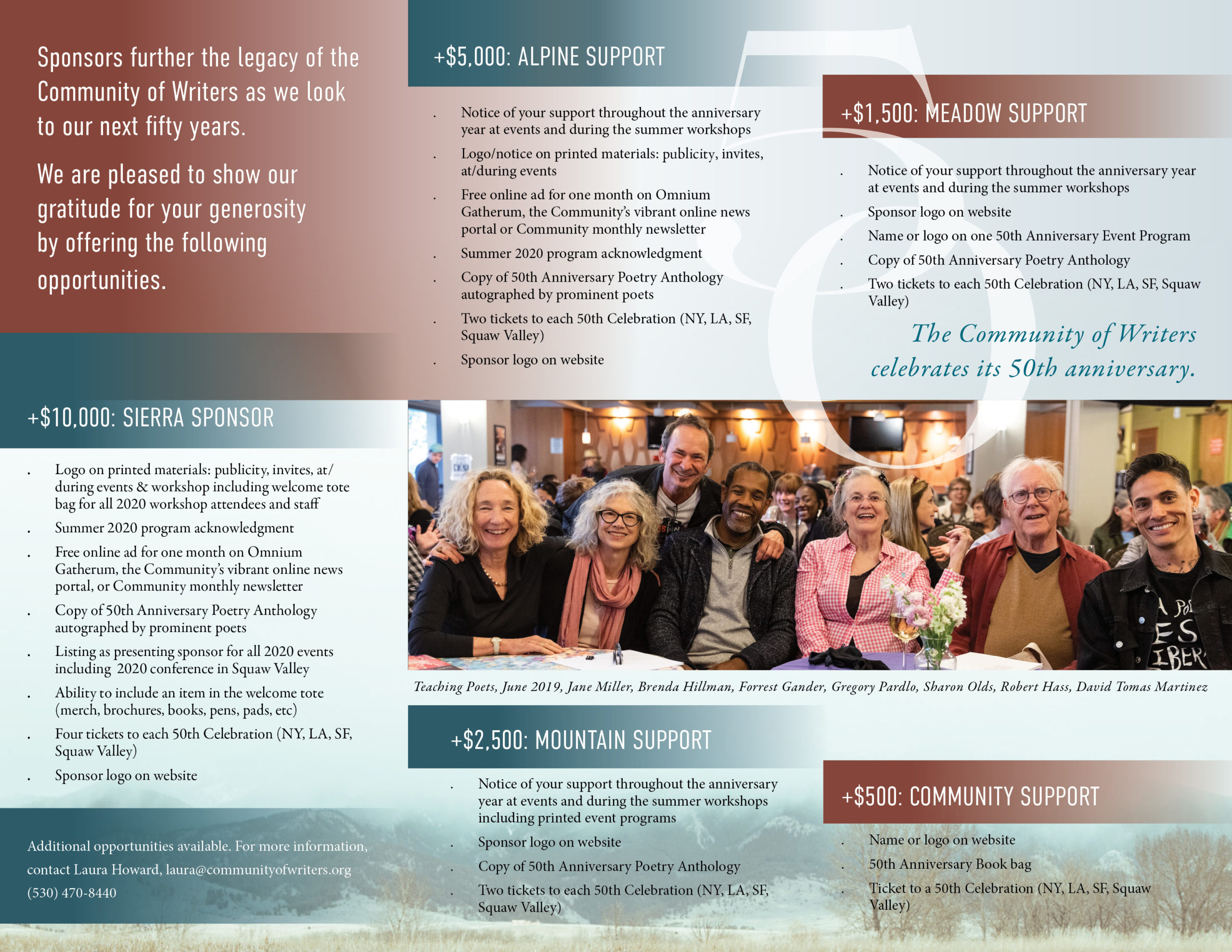 Image of Sponsorship Brochure